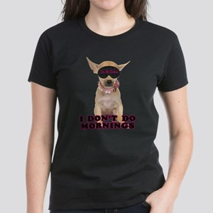 Sleepy Chihuahua Women's Dark T-Shirt