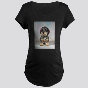 FIN-wirehaired-dachshund-PRINT-9x12 Maternity