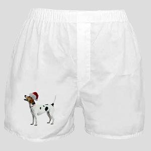 FIN-english-foxhound-santa-CROP Boxer Shorts