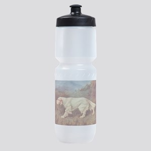English Setter Watercolor Sports Bottle