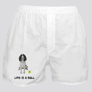 FIN-springer-spaniel-brown-life Boxer Shorts
