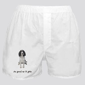 FIN-springer-spaniel-brown-good Boxer Shorts