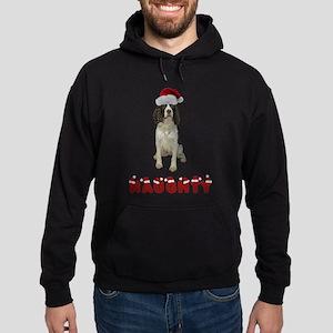 Springer Spaniel Naughty Hoodie (dark)