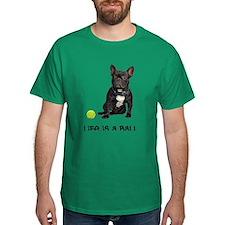 FIN-french-bulldog-life-ball Dark T-Shirt