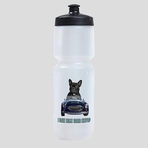 FIN-french-bulldog-car-keys Sports Bottle