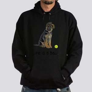 FIN-german-shepherd-puppy-life Hoodie (dark)