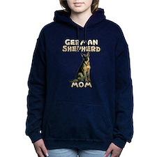 German Shepherd Mom Women's Hooded Sweatshirt
