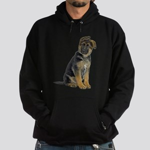 FIN-german-shepherd-puppy-photo Hoodie (dark)