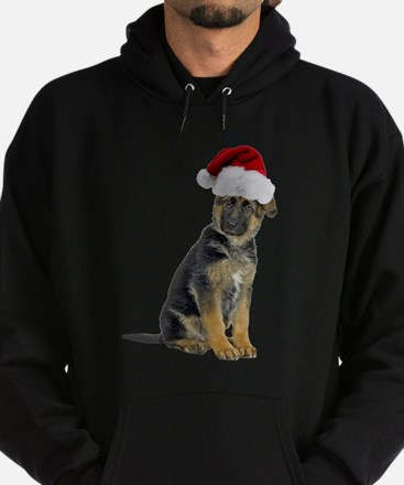 FIN-german-shepherd-santa-CROP.png Hoodie (dark)
