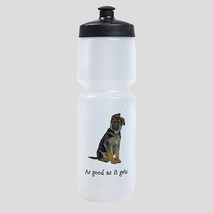 FIN-german-shepherd-puppy-good Sports Bottle