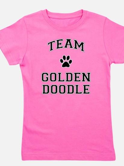 Team Goldendoodle Girl's Tee