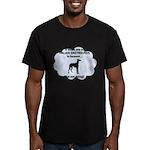 FIN-italian-greyhou... Men's Fitted T-Shirt (dark)