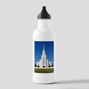 Mormon Twin Falls Idaho Temple Water Bottle