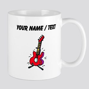 Custom Bass Guitar Mugs