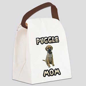 FIN-puggle-mom Canvas Lunch Bag