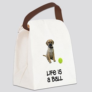 FIN-puggle-life Canvas Lunch Bag