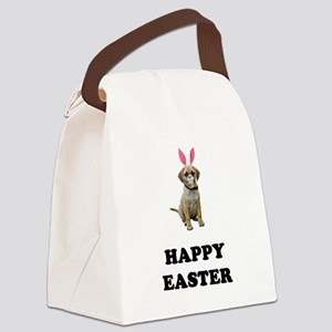 FIN-puggle-easter Canvas Lunch Bag