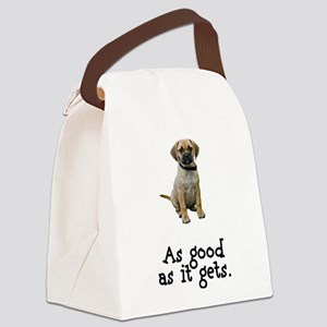 FIN-puggle-good Canvas Lunch Bag