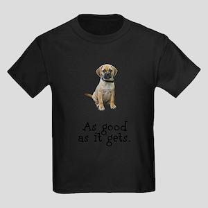FIN-puggle-good Kids Dark T-Shirt