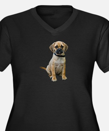 puggle-puppy-photo-TRANS.png Women's Plus Size V-N