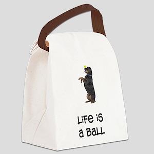 FIN-rottweiler-life-ball Canvas Lunch Bag