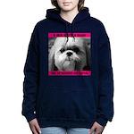 Heavenly Shih Tzu Women's Hooded Sweatshirt