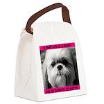 Heavenly Shih Tzu Canvas Lunch Bag