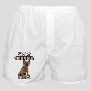 Silky Terrier Mom Boxer Shorts