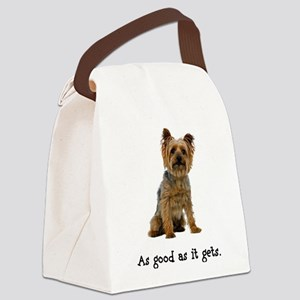 Good Silky Terrier Canvas Lunch Bag