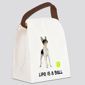 FIN-toy-fox-terrier-life Canvas Lunch Bag