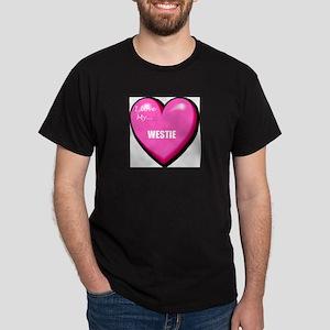 westie-FIN Dark T-Shirt