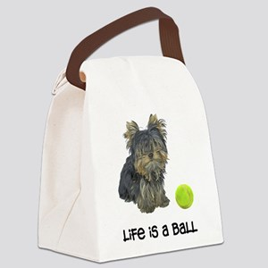 Yorkshire Terrier L... Canvas Lunch Bag