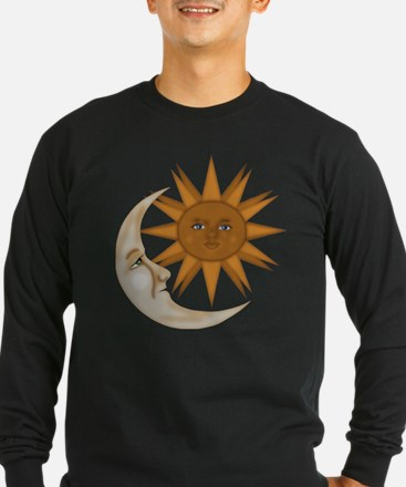 SunNMoon.gif Long Sleeve T-Shirt