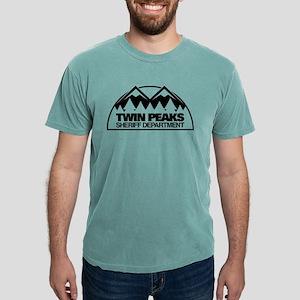 Twin Peaks Sheriff Depar Mens Comfort Colors Shirt