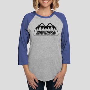 Twin Peaks Sheriff Department Womens Baseball Tee