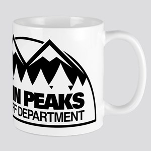 Twin Peaks Sheriff Department 11 oz Ceramic Mug