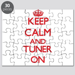 Keep Calm and Tuner ON Puzzle