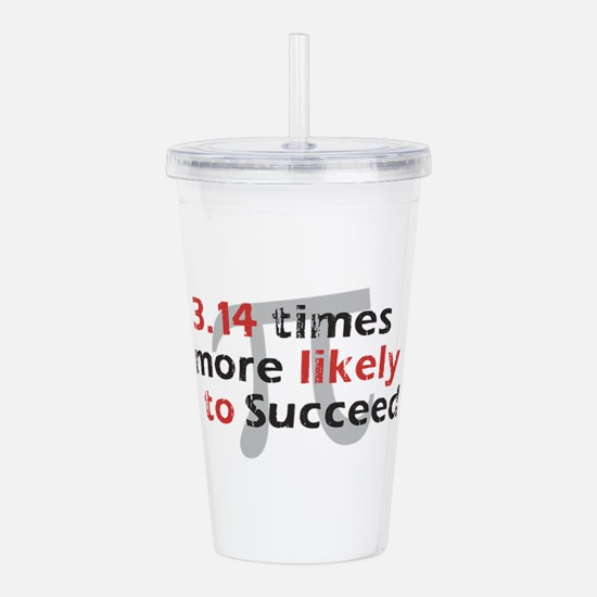 Pi Success Funny Math Acrylic Double-wall Tumbler