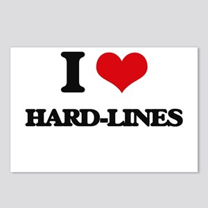 I Love Hard-Lines Postcards (Package of 8)