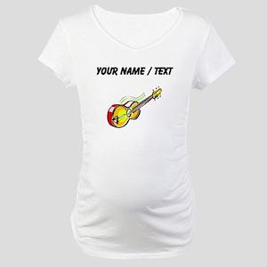 Custom Guitar Maternity T-Shirt