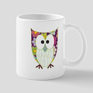 Floral Patchwork Owl Mugs
