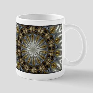 Circular Metallic Mugs
