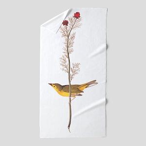 Audubon Selby's Fly Catcher Beach Towel