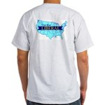 True Blue United States Liberal - Ash Gray T-Shirt