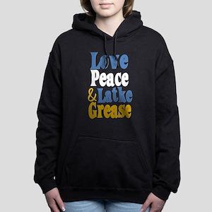 Love Peace & Latke Grease Women's Hooded Sweatshir