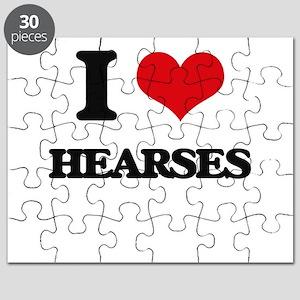 I Love Hearses Puzzle