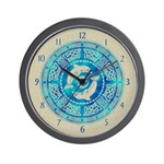 Celtic Dolphins Wall Clock