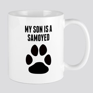 My Son Is A Samoyed Mugs