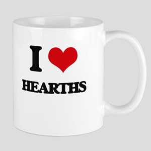 I Love Hearths Mugs