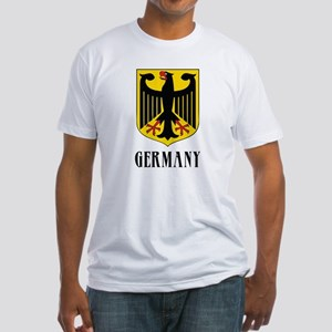 German Coat of Arms Fitted T-Shirt